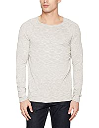 SELECTED HOMME Herren Pullover Shnclash Linen Crew Neck