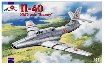 il-40-brawny-soviet-jet-engined-armored-aircraft-2nd-ptototype-1-72-amodel-72213-by-a-model