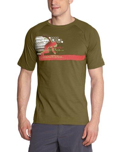 li-ning-c271-t-shirt-de-course-pour-homme-vert-vert-fonce-xl