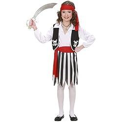 Disfraz de pirata grumete para niña, (11-13 años)