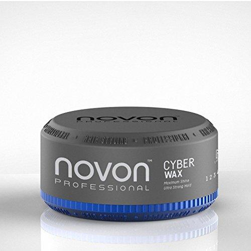 6 x Novon Professional Cyber Wax 150ml - Aqua Hair Wax