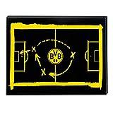 Borussia Dortmund Magnetboard, Memowand, Magnettafel BVB 09 - Plus Gratis Lesezeichen I Love Dortmund