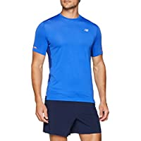 New Balance MC Ice 2E Camiseta, Hombre, Azul (Pacific), M