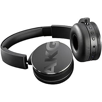 AKG Y50BT Casque Audio Supra Auriculaire Sans Fil Bluetooth - Noir