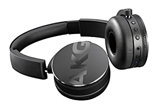 AKG Y50BT - Auriculares de Diadema Cerrados (Bluetooth, Micro USB, 113 dB SPL/V, 3.5 mm), Color Negro (B01583HEO8) | Amazon price tracker / tracking, Amazon price history charts, Amazon price watches, Amazon price drop alerts
