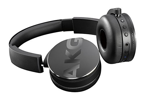 AKG Y50BT Portable Foldable On-Ear Rechargeable Bluetooth Headphones - Black Best Price and Cheapest