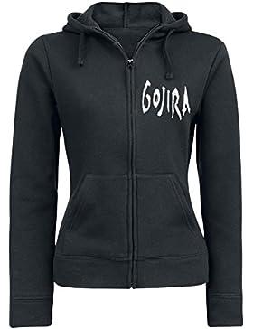 Gojira Elements Chaqueta con capucha Mujer Negro