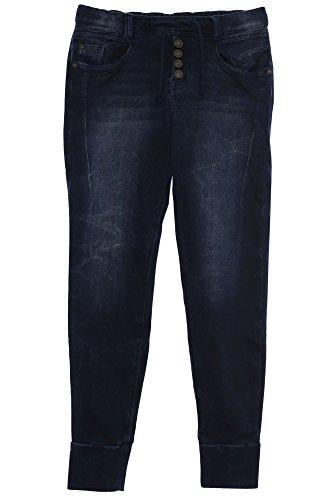Tom Tailor Joggjeans Jeans Hose Freizeithose Damen Stretch Boyfriend Style, Farbe:blau;Damengrößen:L