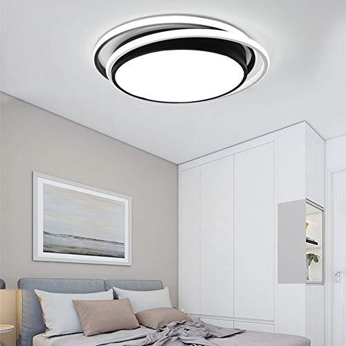 YHSGD Moderna lámpara de Techo Minimalista LED Redondo Regulable con Control Remoto...