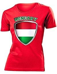 UNGARN FANSHIRT - Damen T-Shirt Gr.S bis XXL