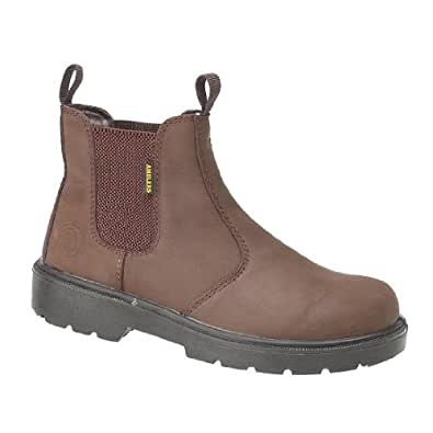 Amblers Steel FS128 Brown Dealer Style Safety Boot-09