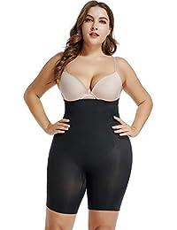 dcaf429a36 Joyshaper Tummy Control Thigh Slimmer Body Shaper for Women High Waist  Knickers Slimming Butt Lifter Boyshorts