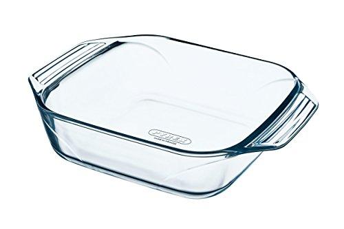 Pyrex Irresistible Teglia quadrata in vetro borosilicato, 29 x 22.5 x 7 cm, 2.3 L