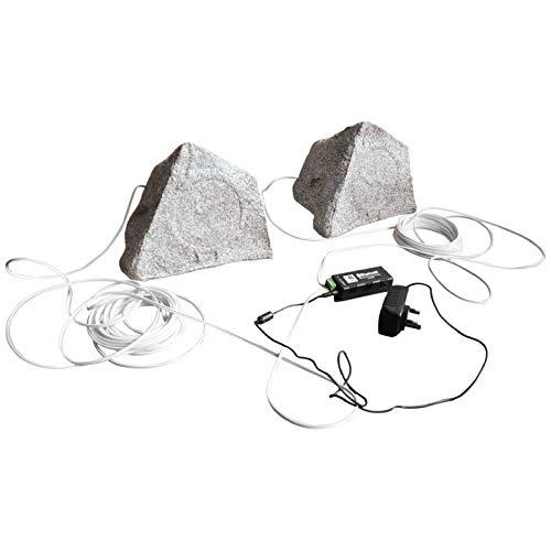Eagle Bluetooth Garten-Lautsprecher-Set Granit