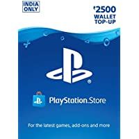 Rs.2500 Sony PlayStation Network Wallet Top-Up ( Email Delivery in 1 hour- Digital Voucher Code)