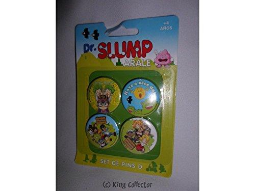CHARACTER SET D Dr Slump de 4 broches Dr Slump