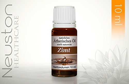 Neuston Zimt - 100% naturreines ätherisches Öl, 10 ml