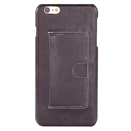 iPhone Case Cover IPhone 6 6S lederne Fall-Abdeckung, U Entwurfs-Karten-Schlitz-Abdeckungs-Normallack-Abdeckung für iPhone 6 6S ( Color : A , Size : IPHONE 6 6S ) D
