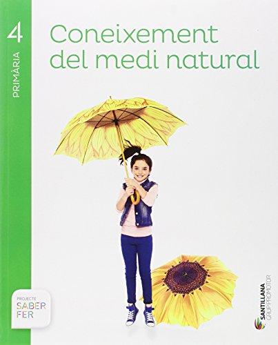 CONEIXEMENT DEL MEDI NATURA 4 PRIMARIA SABER FER - 9788491302889 por Varios autores