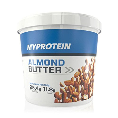 MyProtein Almond Butter Crunchy Burro di Mandorle - 1000 gr