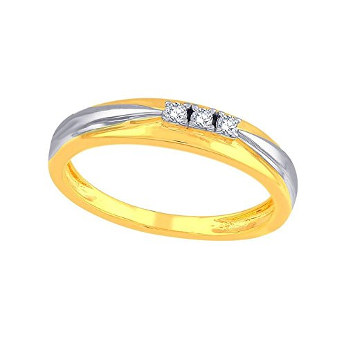 Sangini 18KT Yellow Gold and Diamond Ring for Men