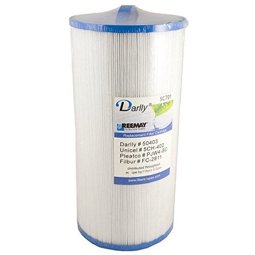 Darlly® Filter Ersatzfilter SC701 Lamellenfilter Del Sol Spas Sundance (Filter Sundance Whirlpool)