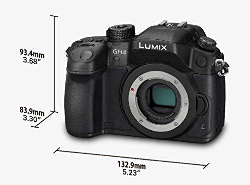 Panasonic LUMIX G DMC-GH4EG-K Systemkamera Gehäuse (16 Megapixel - 5