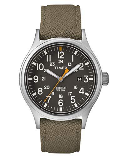 Timex Orologio Analogico Quarzo Uomo con Cinturino in Nylon TW2R46300