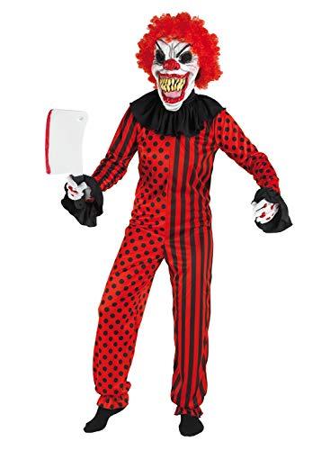 Für Kostüm Erwachsene Killer Clown - Chiber Disfraces Killer Clown Kostüm für Erwachsene