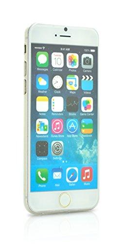 iProtect TPU Schutzhülle Apple iPhone 6, 6s Soft Case in matt Rosa IP6 Soft Case matt Weiss