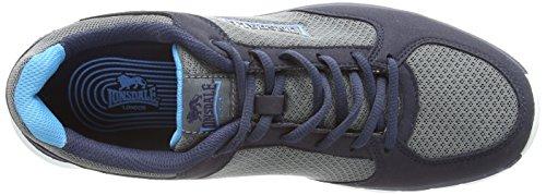 Lonsdale - Lonsdale Shearwater, Scarpe outdoor multisport Uomo Blu (Blu (Black/Grey/Orange))