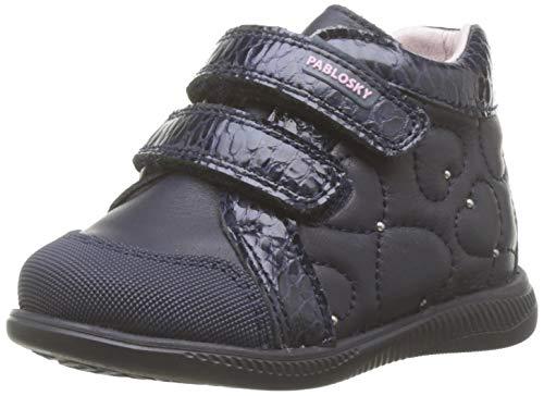 Pablosky 066525, Zapatillas de Estar por casa para Bebés, Azul Azul Azul, 21 EU
