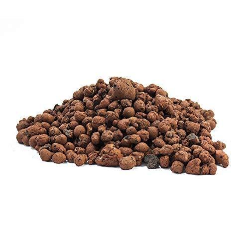 Cultivalley 25L Blähton 8-16mm • Hochwertiges Hydrokultur Ton-Granulat Rund & Grob • Perfekt für Topfpflanzen als Pflanzton & Dachbegrünungen oder als Baustoff