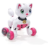 Electronic Kitty Toy - Talking Super Space Puppy Kitty Electronic Pet Toy - Large Touch Sensor & Voice Activated Interactive Educational Voice Control I-Robot Kitty Toy 15 Voice Commands - for Boys and Girls - Compare prices on radiocontrollers.eu