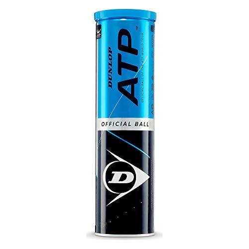 DUNLOP Unisex - Adulto ATP Pelota de Tenis