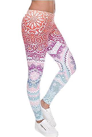 Minetom Femme Multicolore Maigre Leggings Jambières Séchage Rapide Fitness Workout Pantalon Serré Survêtement Yoga Plank Jogger Pilates Multicolore 01 Taille