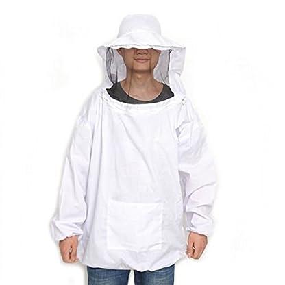 CHENGYIDA Professional Beekeeping Suit Jacket Veil Smock Dress 1