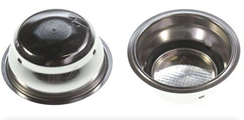 DeLonghi EC680 Macchina da caffè espresso - Filtro 2 Dosi (2 Tazze, nuova versione con filtro interno rimovibile per una migliore pulizia)