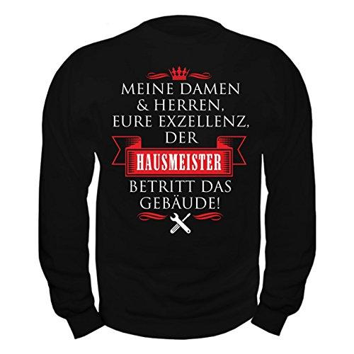 Männer und Herren Pullover Eure Exzellenz DER HAUSMEISTER