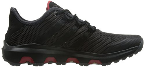 adidas Unisex-Erwachsene Climacool Voyager Trekking-& Wanderhalbschuhe, Blau Schwarz (Shadow Black/Core Black/Power Red)