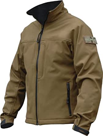 Highlander Odin Softshell Jacket - Tan, Small