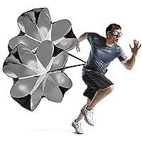 """Preisvergleich für Kuyou Geschwindigkeits-Training Widerstand 56"""" Zoll Fallschirm Geschwindigkeit Training Laufschirm Sprint Fitness Leistung Lauftraining"""