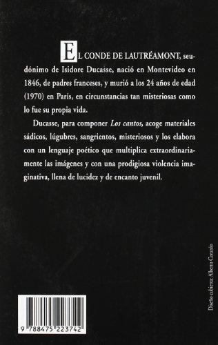 Cantos de Maldoror (Visor de Poesía, Band 374)
