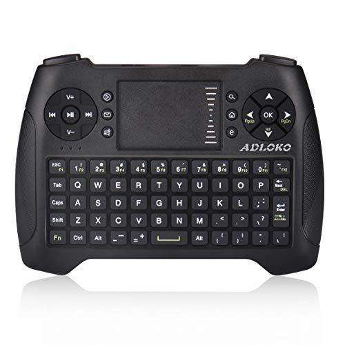 Teclado inalámbrico Mini 2.4G Teclado Portátil Touchpad