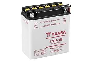 YUASA 12N5-3B Batterie de Moto