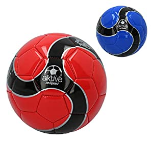 CB- Balón fútbol Mini Cuero sintético 190 gr, Multicolor (54001)