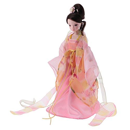 MagiDeal Flexible Kostüm Puppe chinesische Frühlings / Sommer / Herbst / Winter Fee Modepuppe Spielzeug Geburtstags Geschenk - Herbst ()