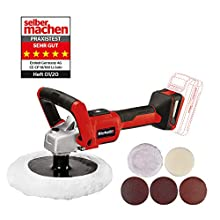 Einhell Cordless Polishing/Sanding Machine CE-CP 18/180 Li E-Solo Power X-Change (2-in-1-product, li-ion, Brushless Electric Motor, Electronic Speed Control, Supplied without a Battery or Charger)