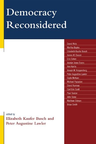 Democracy Reconsidered (English Edition)