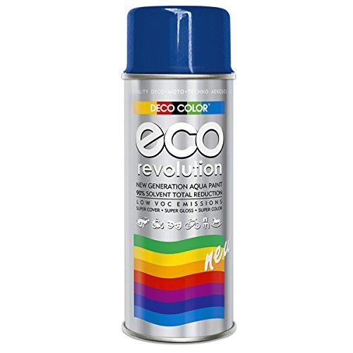 DC ECO Lackspray glänzend matt 400ml nach RAL freie Farbauswahl (Blau Glanz RAL 5010)